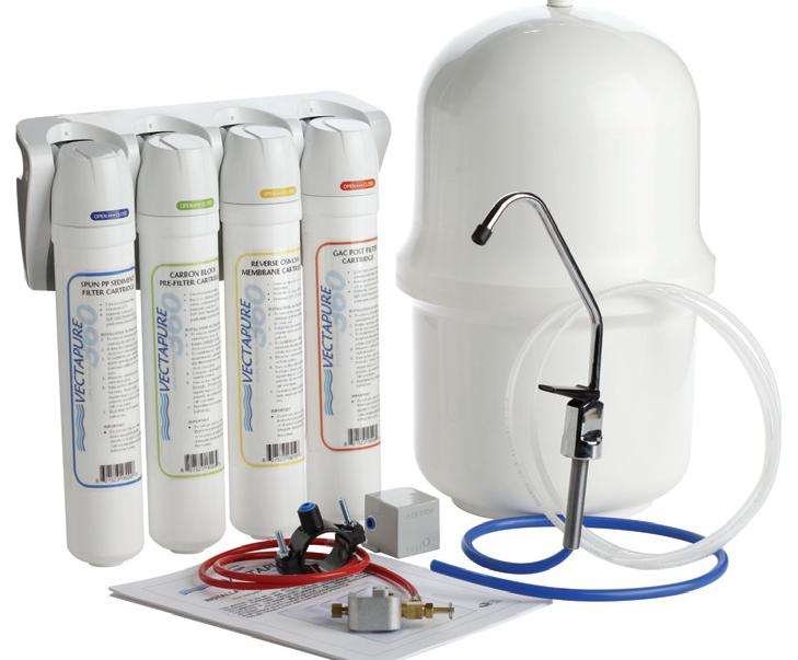 FP-V3604RO / 4-Stage 75 GPD Reverse Osmosis (Recommended) The best present for your children and loved ones.Le meilleur cadeau pour vos enfants et vos proches. Easy to install easy to change the cartridges.
